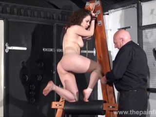 Spanked amar slavegirl beauvoirs hellpain whipping and strict dungeon bd