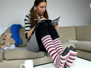 Socks – Czech Soles – Teacher-student foot worship session