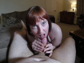 Wife gives Blowjob