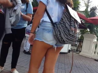 Candid vor teen shopping compilation 2