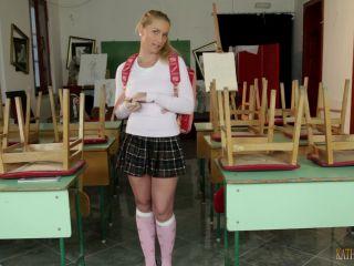 Clips4Sale – KathiaNobiliGirls presents Kathia Nobili in Naughty schoolgirls HAND JOB for better grade