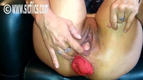 Marias extreme anal ruination
