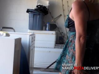 Naked Pizza WifeAndTheGarbageMan