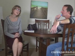 Clare Spanks Men – Clare Fonda – Clare Provides Some Marriage Counseling