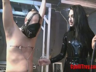 Humiliation – Cybill Troy FemDom Anti-Sex League – Chastity Whipping