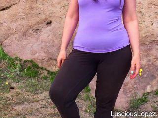 Luscious Lopez - Luscious Lopez flip flops POV