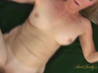Annabelle gets to suck hard cock