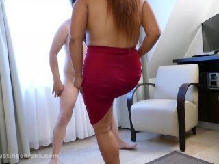 Bbw – Ball Busting Chicks – I am laughing at losers – Amy