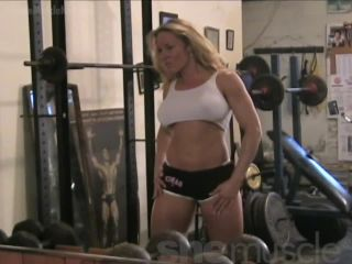 Sigrid - Hot Swedish Muscle in the Gym