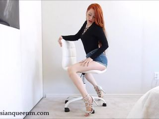 Russian Queen M in Sexy JOI with cum countdown By RQM