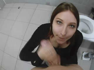 JuliAleXXX in 015 Arousal by Lush at Public and Cumshot in Restroom to Mouth POV