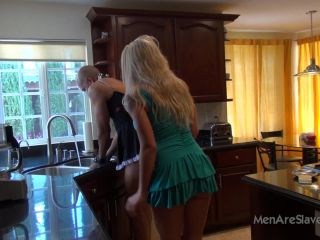 Foot Slave – Men Are Slaves – She's Demanding – Princess Leya
