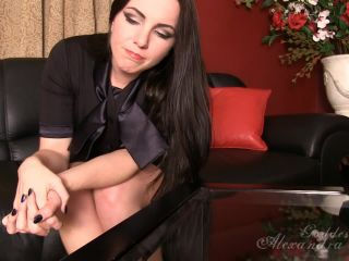 Goddess Alexandra Snow – Blackmailed for your Foot Fetish