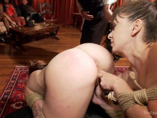 Lea Lexis Anal Fucked by Giant Cock and Newbie Slut Gets Porn Lessons - Kink  January 3, 2014