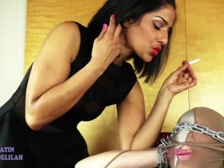 Bossy Delilah — Smoking Head Ashtray Servitude (720 HD)