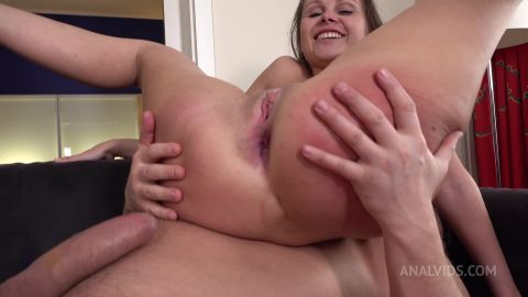 DP Cute Liza Shay With Big Ass Tried Two Cocks - All Holes - Big Anal Gape VK030 [FullHD 1080P]