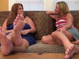 Teacher Blackmails Maryann To Suck Her Feet