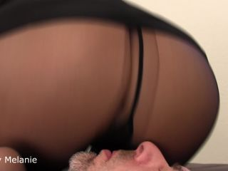 """OBEY MELANIE: """"SNIFF IT AND LICK IT"""" (ASS WORSHIP, FOOT WORSHIP)"""