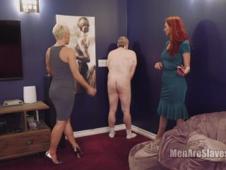 Corporal Punishment – Men Are Slaves – Slave Polkadot, Part 1 – Helena and Kendra