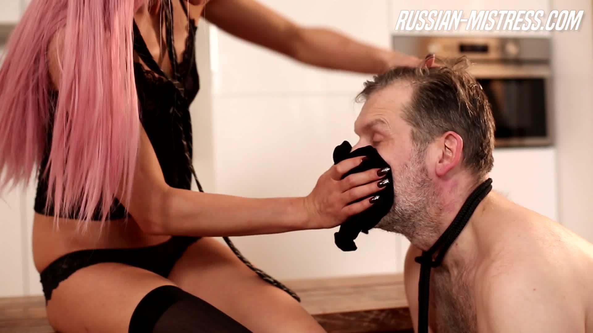 Russian Femdom Foot Fetish