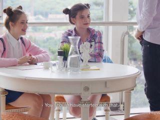 Molly Brown, Leah Maus - Slutty Mood for a Threesome - WowGirls (FullHD 2020)