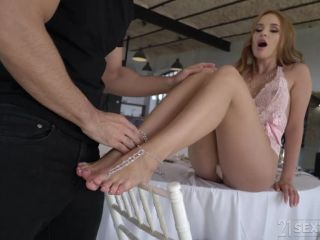 asian mistress femdom feet | Kaisa Nord - Foot Seduction 101 [FootsieBabes, 21Sextury / SD / 544p] | 21sextury