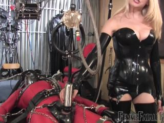Online video Drained By The Milking Machine   28th Feb 2014 femdom
