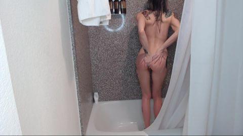 ThisIsFuckingFun - Hotel Shower Spycam Cum [FullHD 1080P]