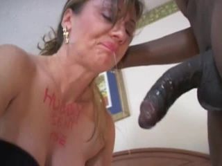 Cuckold white wife spent whole weekend with her hung black lovers... t ...