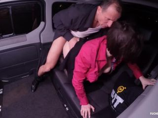 Anabell - Brunette Czech Babe Seduces Taxi Driver George Uhl To Have S ...