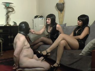 Shoe & Boot Worship – Absolute Femdom – A Paypig Shoelicker For Our Amusement