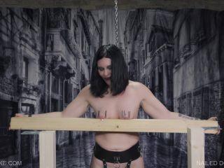 Queen Snake – Nailed Down – Abby 2019 November 23 - spanking - lesbian xxx bdsm films