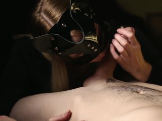 Cherry Grace - Cat Masked Beauty Edges A Hard Cock With Such Sense And ...