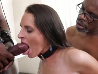 """Black sperm was """"glued"""" for that meaty pussy"""