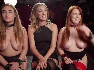 Squirting Slave Sluts Inspire A BDSM Halloween Orgy - Kink  December 8, 2017