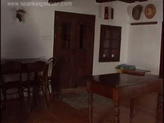 Lesbian Domination Whip Spank on the Ass, Lezdom, Bondage