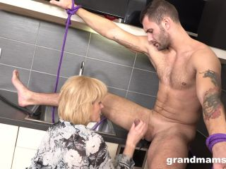 Porn online GrandMams presents Grandma Demanding Her Young Sex Slave To Fuck Her Cunt (MP4, FullHD, 1920×1080) Watch Online or Download!