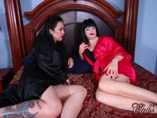 [Femdom 2018] ClubDom  Liberated From Manhood by Jean and Lydia  Ball Shock [Double Domination, Spit, Ballshocker, Electric, Electric Play, CBT]