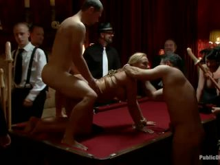 Mellanie Monroe: Big Tittied Milf is used as the Armory Fuck Hole for a Night