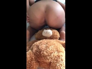 Souzan Halabi - Babysitter Plays With Teddybear