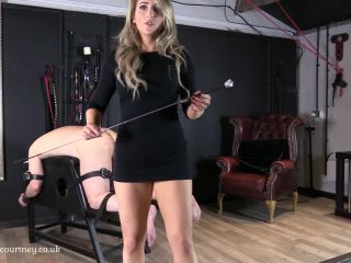Online porn Mistress Courtney - I'll Ease you Back In slave - Whipping