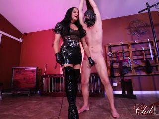 Porn online ClubDom – Cruel Unusual FemDom – Punishment Whipping. Starring Mistress Michelle Lacy femdom