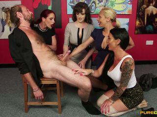 PureCFNM presents Ella Bella, Katie Olsen, Romana Ryder, Stacey Duvall in Rare Condition