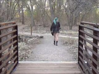 Pissing – teenpee 11 – Pissing under the bridge outdoor public peeing
