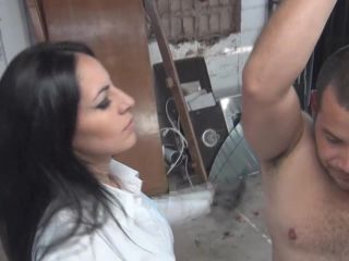 Latin Beauties in High Heels - Red Whipping by Ama K