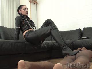 Leather – Femme Fatale Films – Cybill's Way – Complete Film – Cybill Troy