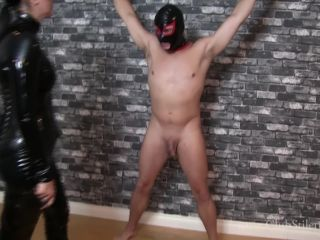 Club Stiletto FemDom  Ballbusting Will Help You Understand Your Sin. Starring Lady Bellatrix [CBT, Ball Abuse, Ballbusting, Balls Busting, Boots, PVC]
