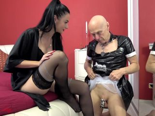 """""""A CUCKOLDING HELL FOR LIFE"""" (1080 HD) (CUCKOLD, TEASE AND DENIAL, FOOT TEASE, SISSY MAID)"""
