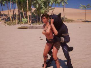 ============== 1614 Wild Life Maya and Black Wolf =============