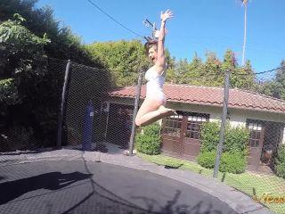 TessaFowler presents Tessa Fowler in Trampoline Fun GoPro 1